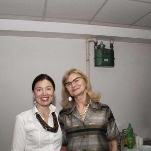 Jelena Knešaurek i Alma Davčik Petošić