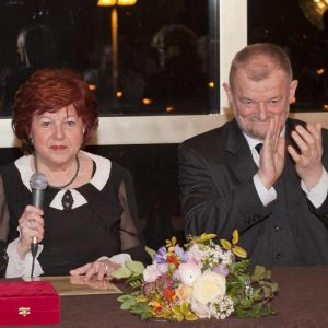 Predsjednica HDGU-a Višnja Mažuran i zamjenik Predsjednice Jože Haluža